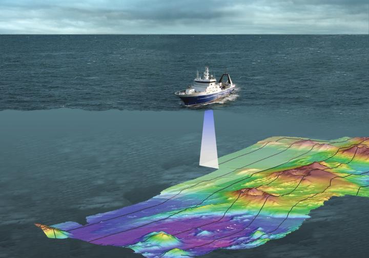 при помощи эхолота измерялась глубина моря